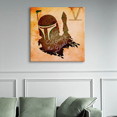 He's No Good to Me Dead Canvas Print