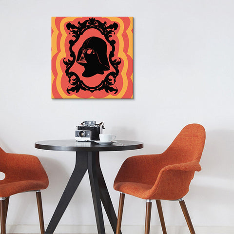 Sith Lord Radiation Red Canvas Print