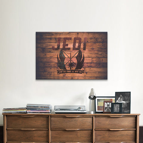 Star Wars Jedi Canvas Print