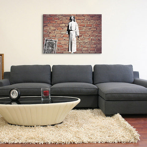 White Russians Canvas Print