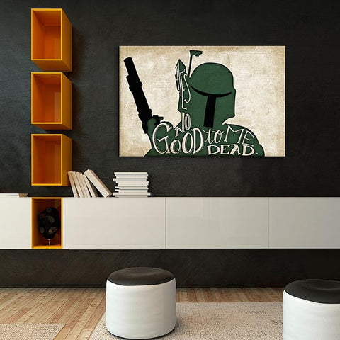 Boba Fett by DarkLord Canvas Print