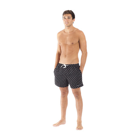 Pirate Wheel Short in Black