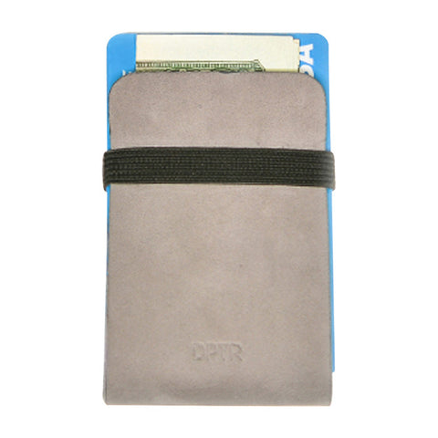 Clamshell Wallet in Grey