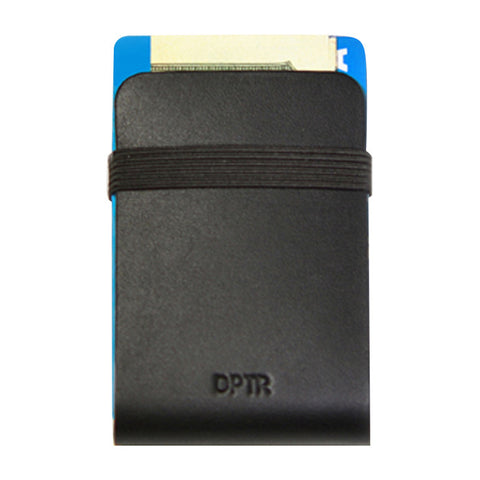 Clamshell Wallet in Black