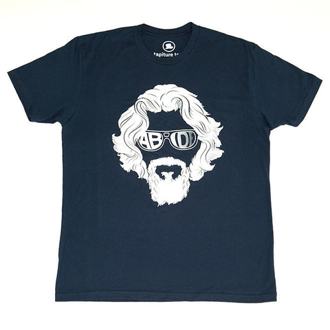Abide T-Shirt in Navy