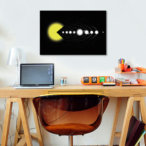 Solar Expansion Canvas Print