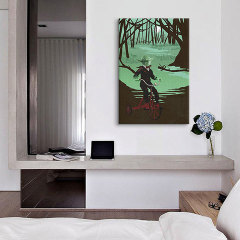 Training In Jedi Master Canvas Print