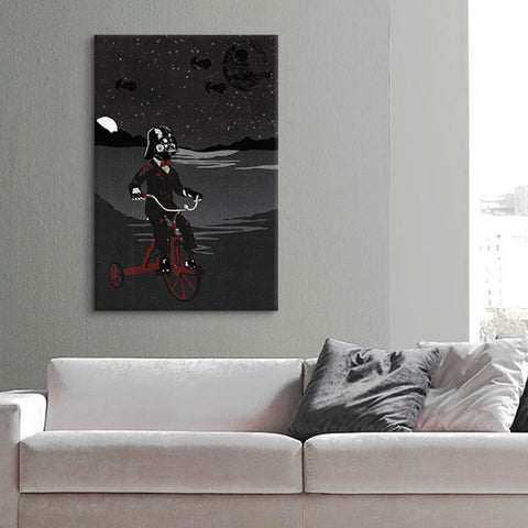 Sith Lord In Training Canvas Print