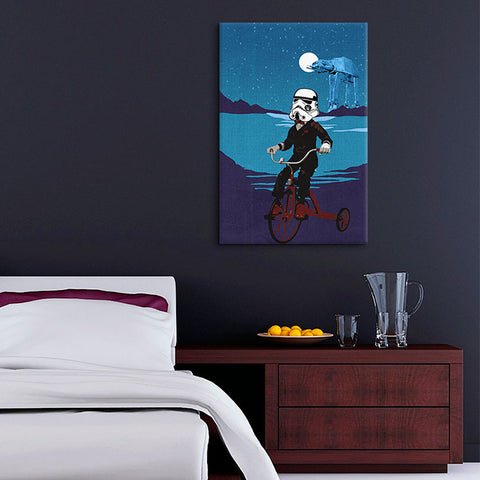 Storm Trooper In Training Canvas Print