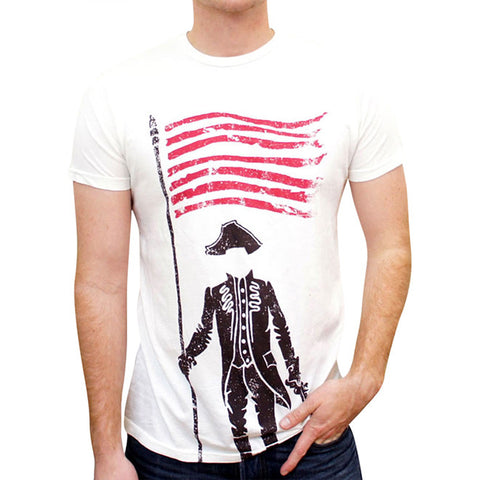 The Patriot Tee in White