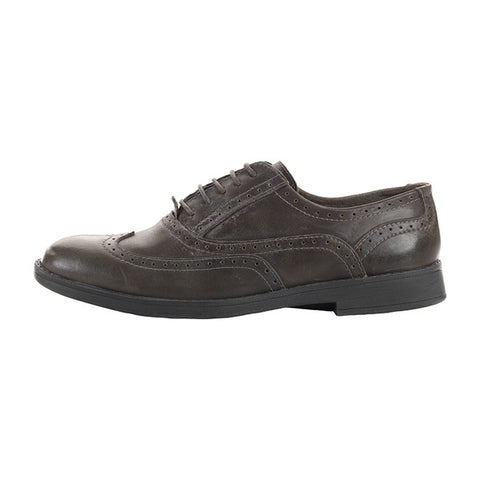 Vinci Leather Wingtip Oxford in Elmo