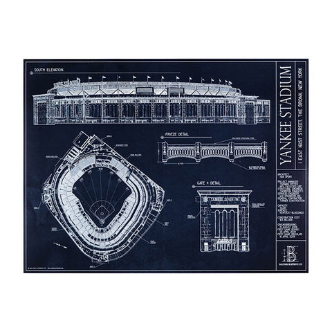 Yankee Stadium Blueprint