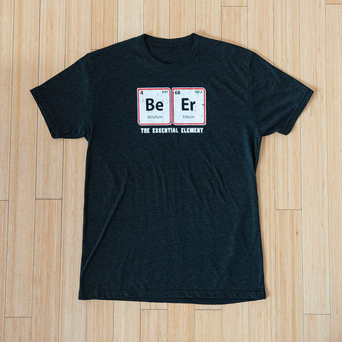 The Essential Element T-Shirt in Heather Charcoal