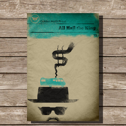 Breaking Bad Top Hat Minimalist Print