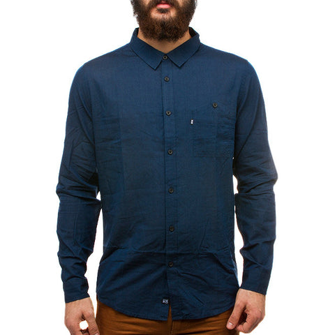 Harold Lightweight Shirt in Navy Blue