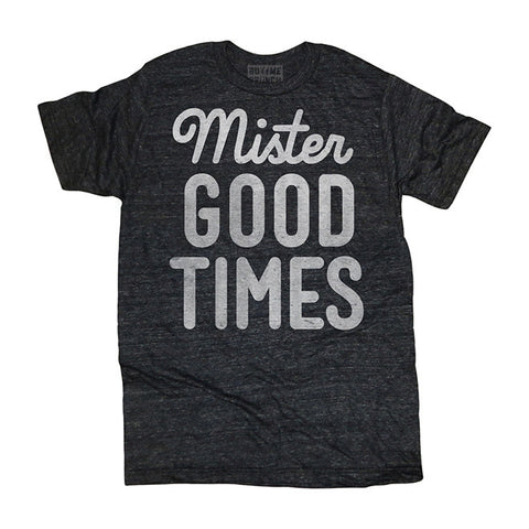 Mister Good Times T-Shirt in Black