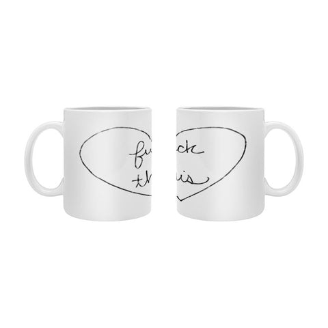 F This Mug By Leeana Benson