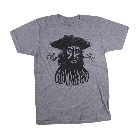 Blackbeard Tee in Heather Grey