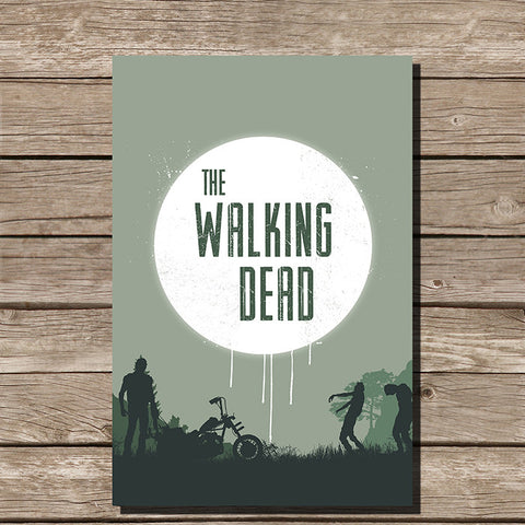 The Walking Dead Minimalist Print