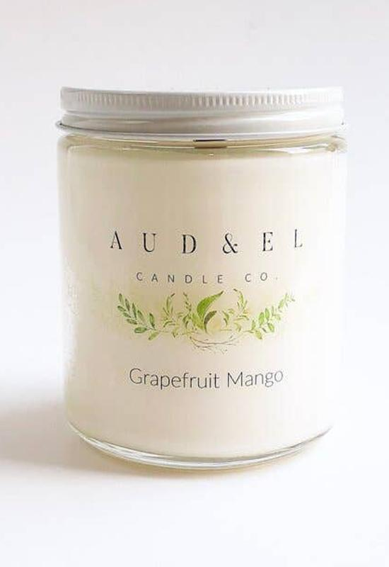 Aud & El - Grapefruit Mango Candle