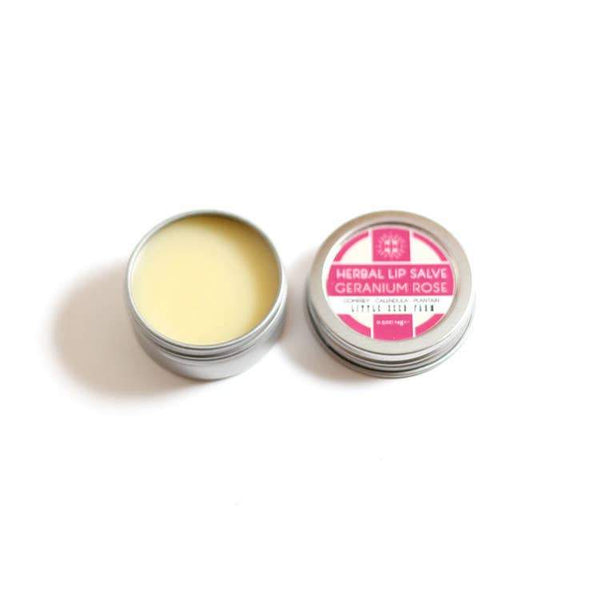 Little Seed Farm - Geranium Rose Herbal Lip Balm
