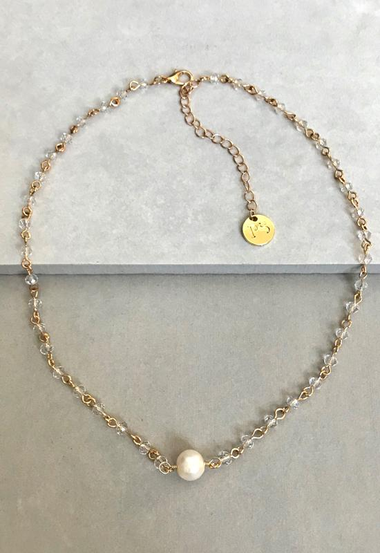Delicate Fresh Water Pearl Necklace