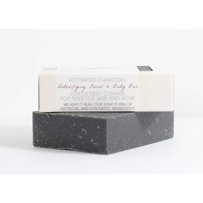 Little Seed Farm -Activated Charcoal Facial & Body Bar