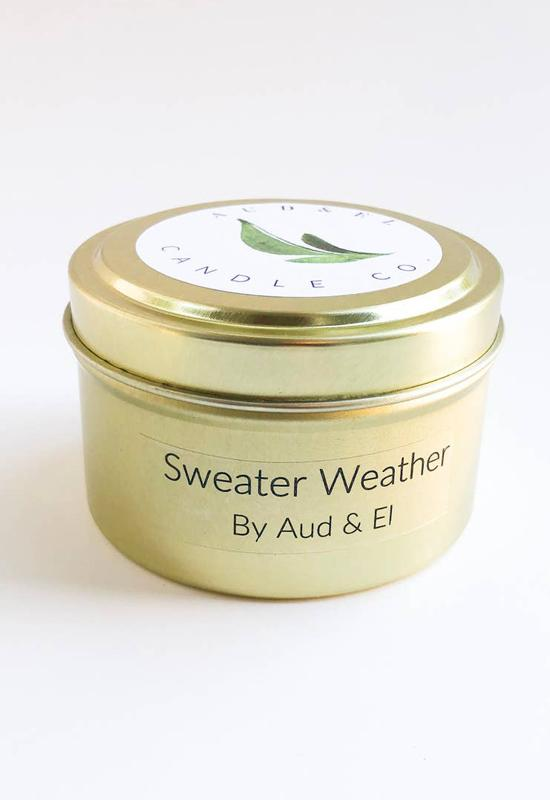 Aud & El - Sweater Weather Fall 2020 Candle
