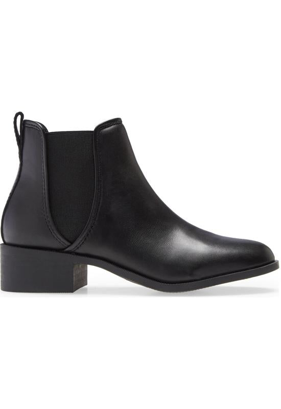 Steve Madden - Dares Boot Black Leather