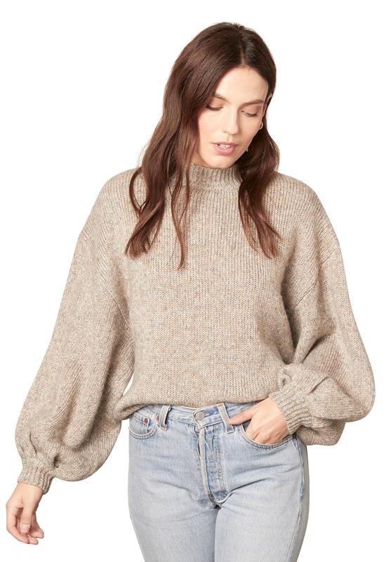 BB Dakota - Tried To Warm You Sweater Heather Grey
