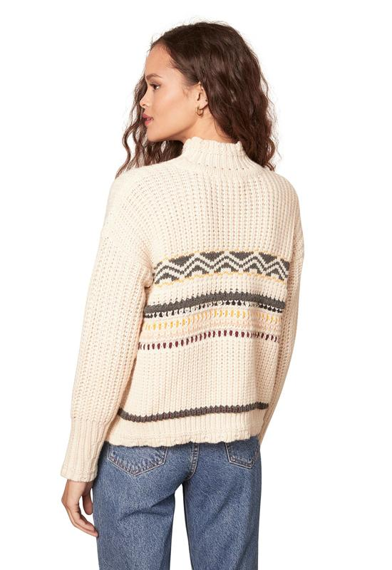 BB Dakota - Chair Lift Sweater Oatmeal