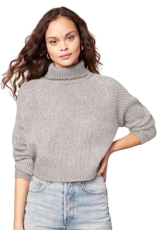 BB Dakota - That Wing You Do Sweater Heather Grey