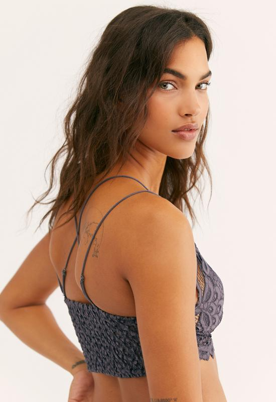Free People - Charcoal Adella Bralette