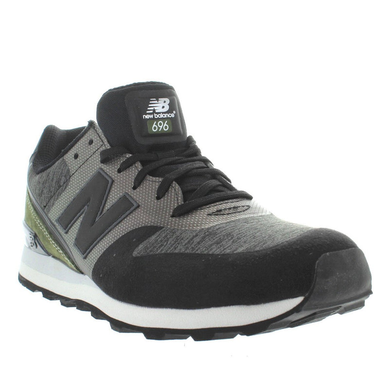 New Balance 696 - Grey/Black Running Sneaker