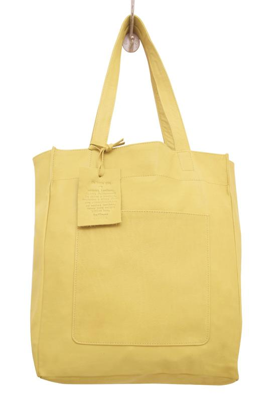 Latico - Yellow Leather Margie Tote