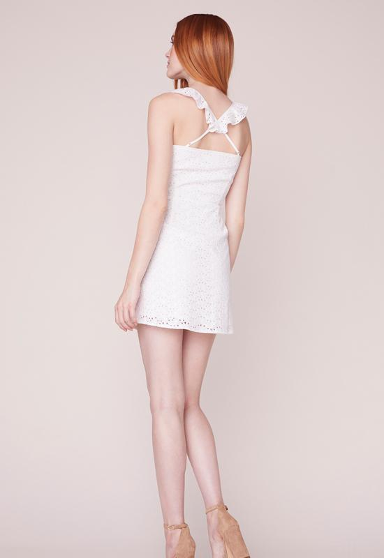 Jack - Walk In The Park Off White Mini Dress