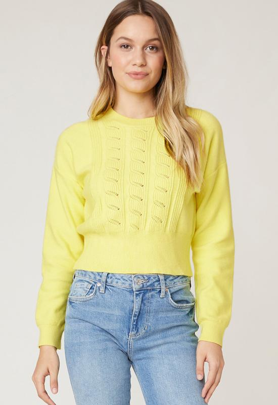 Jack - Waist The Day Saffron Crop Top