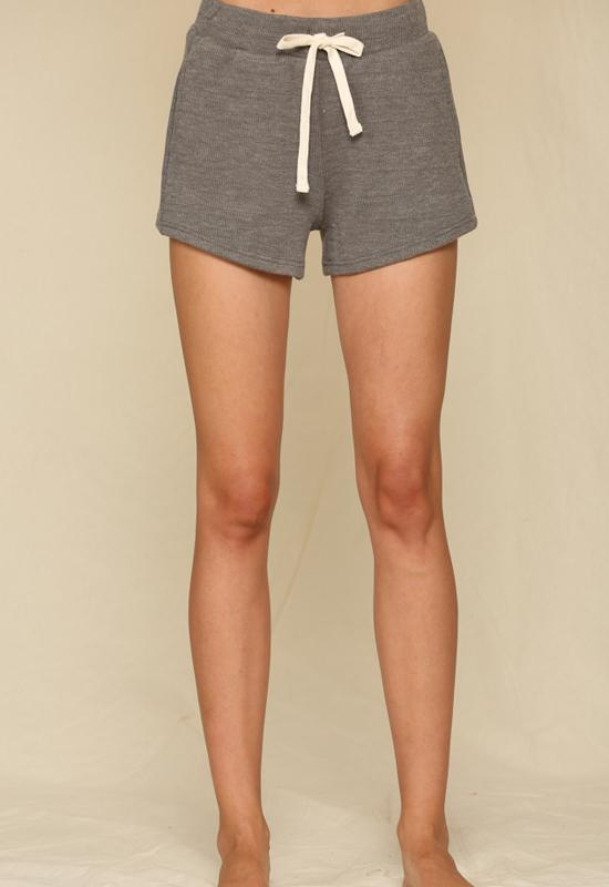 Kixters - Grey Terry Knit Pocket Shorts