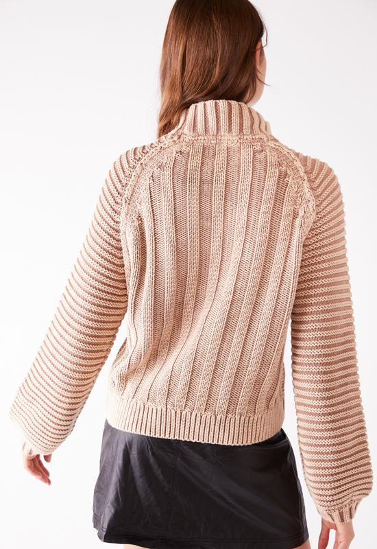 Free People - Sweetheart Sweater Sand Castle