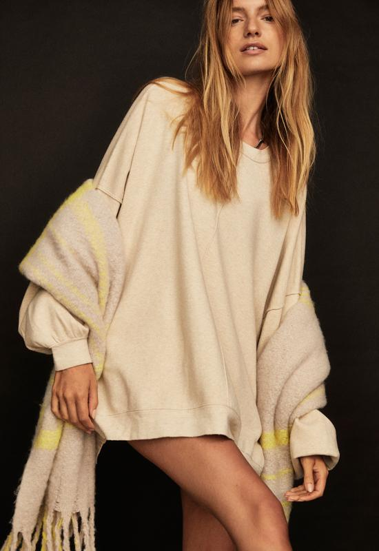 Free People - Uptown Pullover Swaying Birch