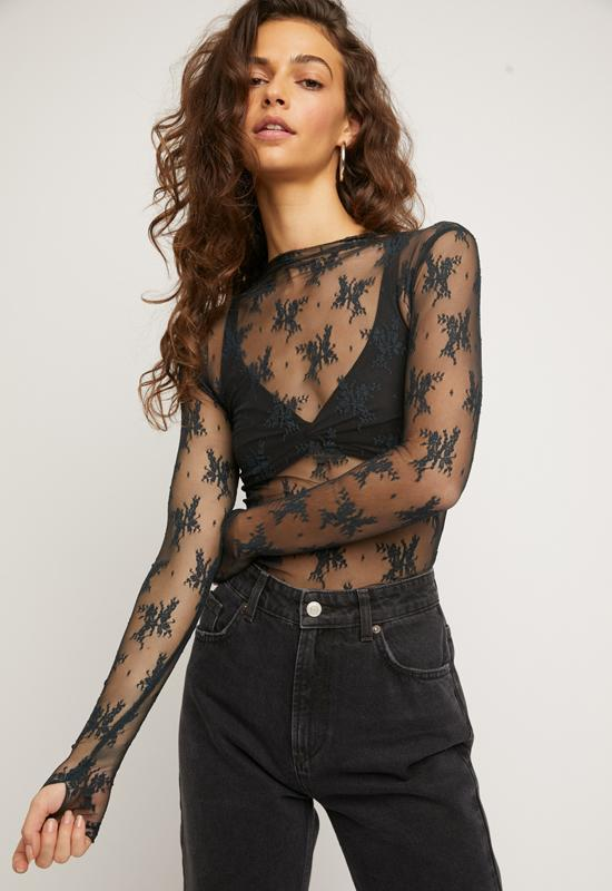 Free People - Lady Lux Layering Top Sunken City
