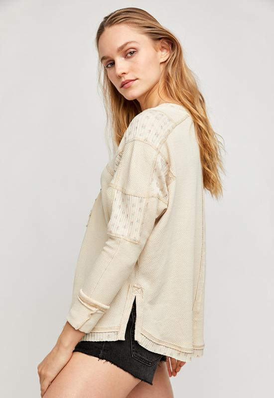Free People - Heart to Henley Washed Muslin