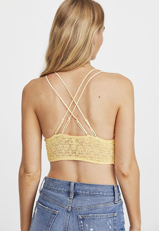 Free People - Beige Miss Dazie Bralette