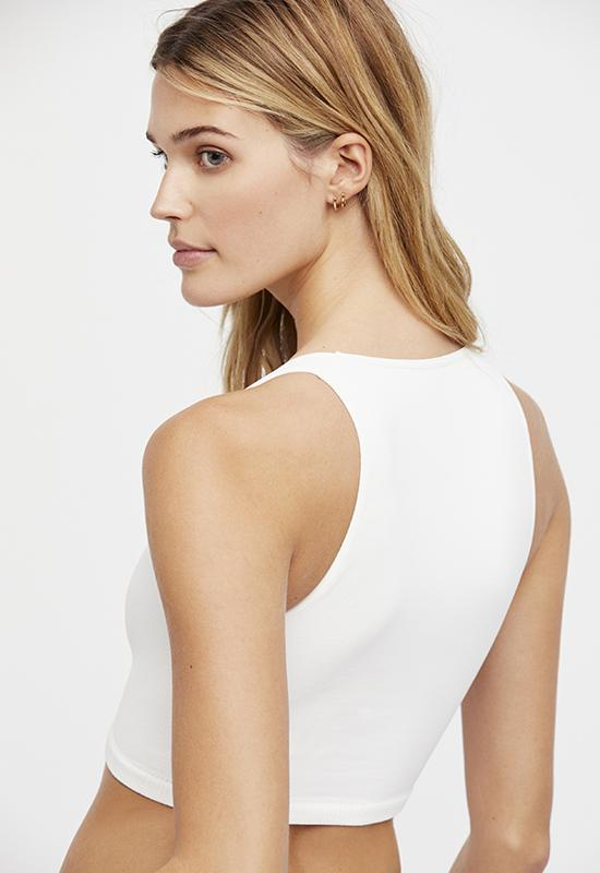 Free People - White Strapped In Brami