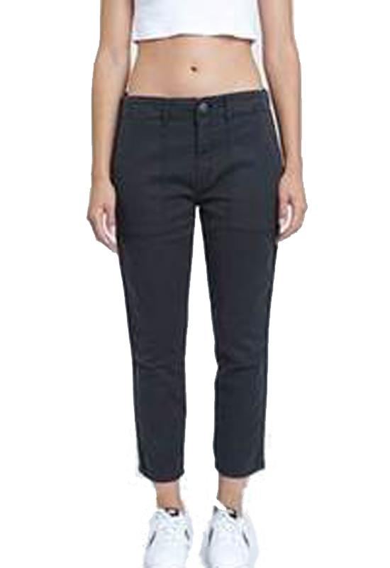 Pistola Asphalt - Black Denim Cropped Jeans