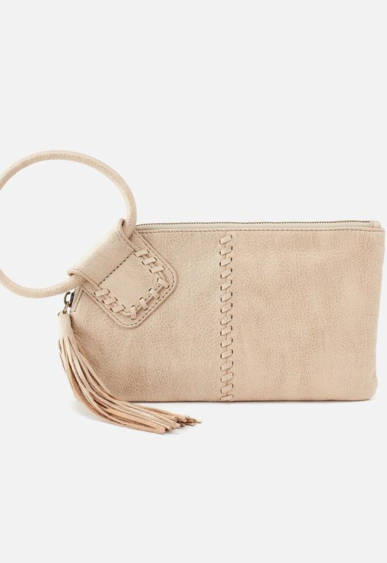 Hobo - Sable Wristlet Buffed Gold Metallic Leather