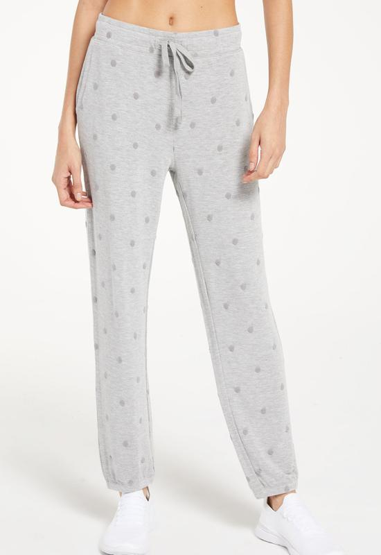 Z Supply - Marcel Dot Joggers Heather Grey