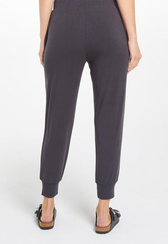 Z Supply - Laine Whisper Jersey Jogger Onyx