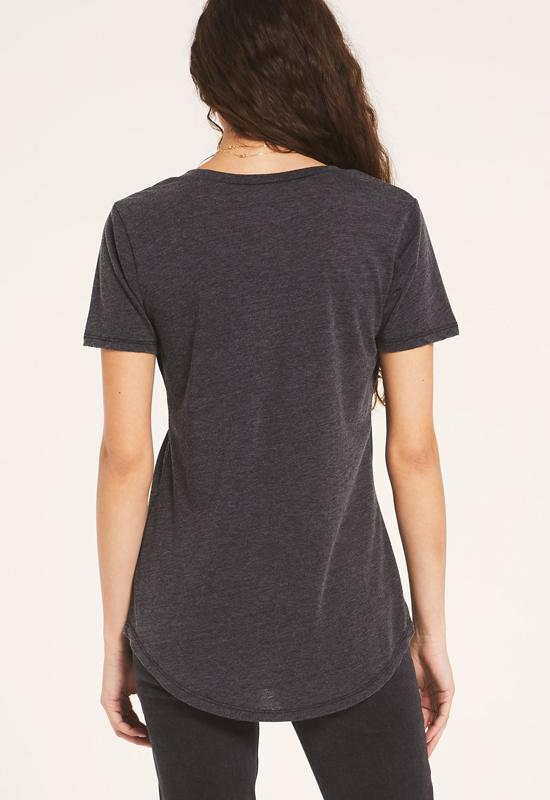 Z Supply - The Black Pocket Tee Shirt