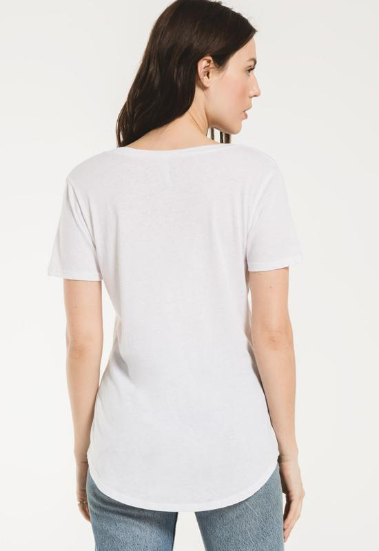 Z Supply - The White Pocket Tee Shirt